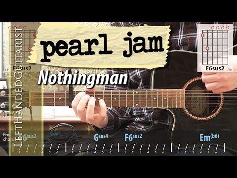 Pearl Jam - Nothingman | guitar lesson
