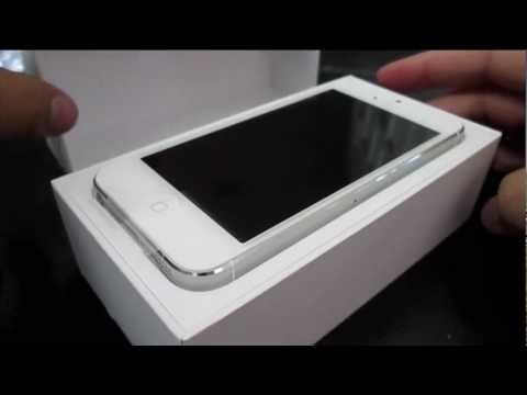 iphone 5 white unboxing iphone 5 white 16gb 11065