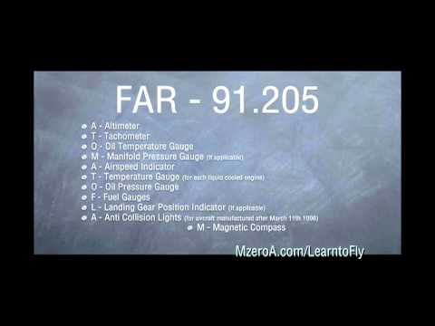 Learn To Fly - Instruments Are Required For VFR Day Flight