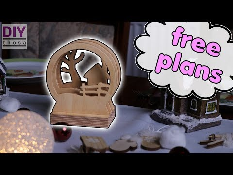 Just another Christmas Deco - Free PDF Plan Download - Sliced Picture