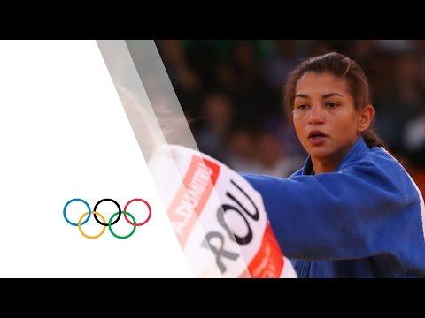 Alina Dumitru (ROU) v Sarah Menezes (BRA) -48kg Women's Judo Final Replay - London 2012 Olympics