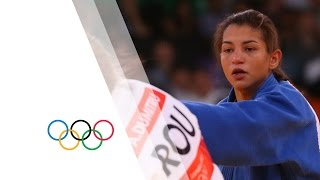 Alina Dumitru (ROU) v Sarah Menezes (BRA) -48kg Women's Judo Final Replay - London 2012 Olympics