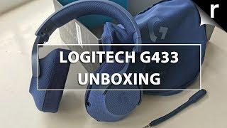 Logitech G433 Unboxing: Super-flexible gaming headset