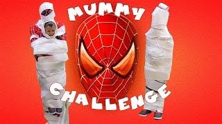 Spiderman Мумия Челендж новые серии 2016 мультики войны паутины