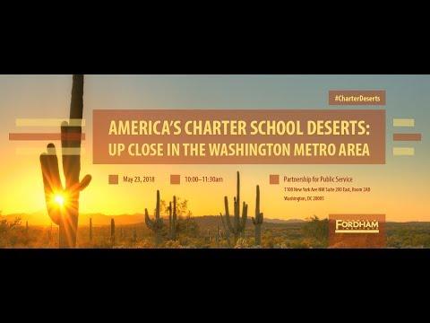 America's Charter School Deserts: Up Close in the Washington Metro Area