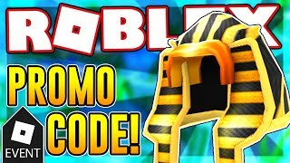 NEW PROMO CODE FOR THE GLORIOUS PHARAOH OF THE SUN | Roblox