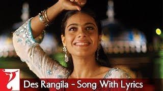 Lyrical: Des Rangila Song with Lyrics | Fanaa | Aamir Khan | Kajol | Prasoon Joshi