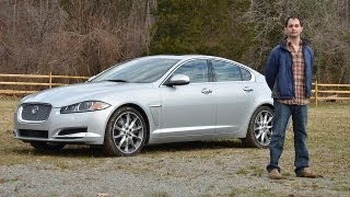 Jaguar XF Supercharged 2012 Test Drive & Car Review by RoadflyTV with Ross Rapoport