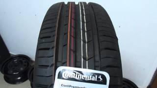 Continental ContiPremiumContact 5 185/60 R14 /// обзор