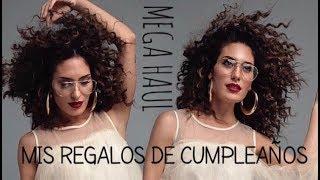 HAUL: MIS REGALOS DE CUMPLEAÑOS - CREETIVOS BY YARA PUEBLA