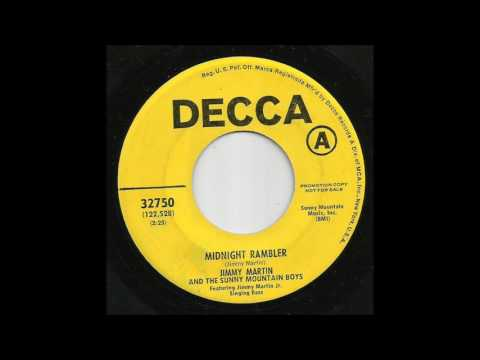 Jimmy Martin & The Sunny Mountain Boys - Midnight Rambler