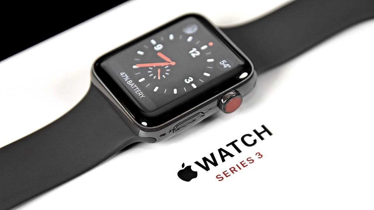 Apple Watch 3 - Tech Gadgets of 2018