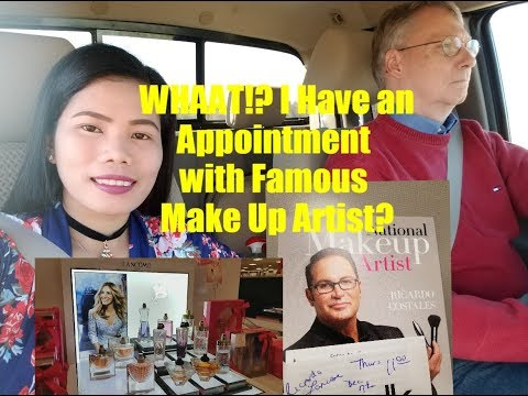 American Filipina Life In America     Lancome Perfume Shopping  + National Make Up Artist Appoin