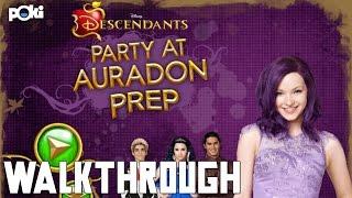 Party Time! Disney Descendants Party at Auradon Prep Poki Walkthrough