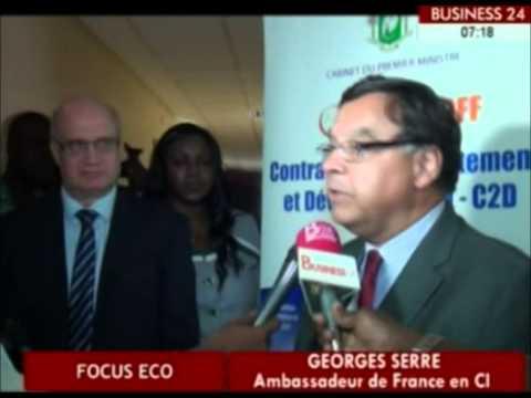 Business 24/  La presse Ivoirienne et etrangere instruites sur le C2D