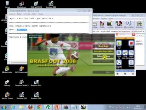 brasfoot 2008 registrado para