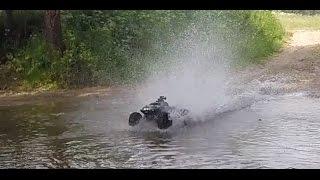 traxxas summit mamba monster 2 water trip