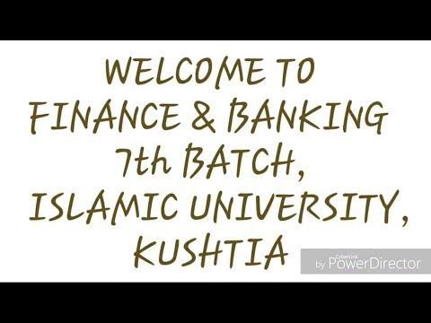 1st Anniversary 2015-2016 Session | Department of Finance and Banking | Islamic University, Kushtia