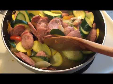 Chicken Apple Sausage Creation