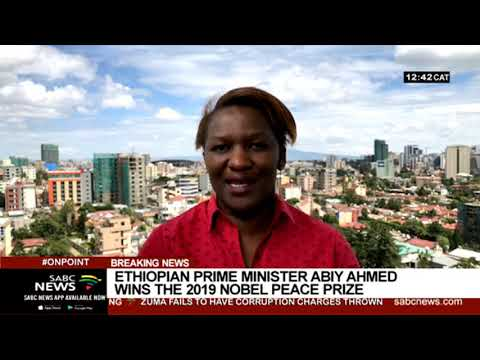 Ethiopian Prime Minister, Abiy Ahmed announced 2019 Nobel Peace Prize winner