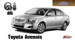 [ Toyota Avensis ] - тест-драйв, обзор, разгон, динамика City Car Driving