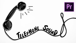 Telefon Ses Ses Efekti Oluşturma Adobe Premiere Pro CC Öğretici