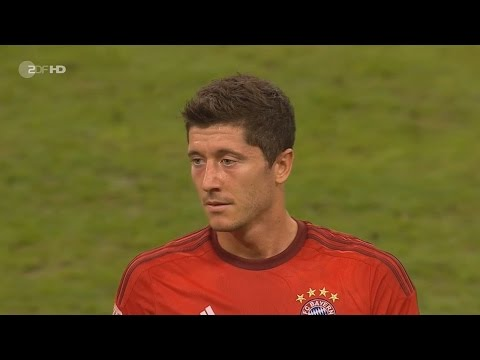 Robert Lewandowski vs Real Madrid Audi Cup 2015 HD 720p (05/08/2015) by 1900FCBFreak