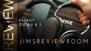 Parrot Zik 2 0 amp 3 Headphone - REVIEW amp Comparison