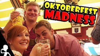OKTOBERFEST MADNESS IN MUNICH (München, Germany) | The Wiesn Diaries | Episode 3 | Get Germanized