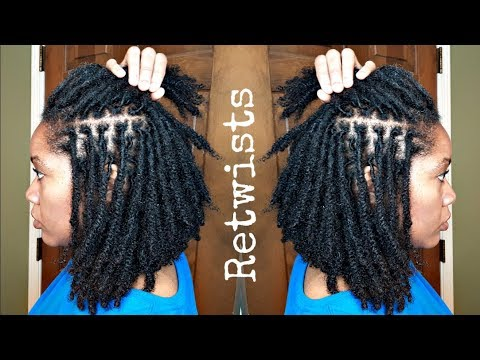 How I RETWIST My Locs | Naturally Michy