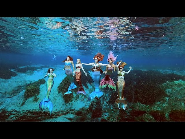 MY FRIENDS ARE ALL MERMAIDS!