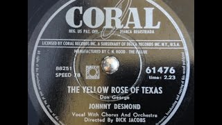 Johnny Desmond - The yellow rose of Texas