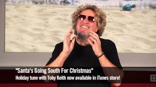 Sammy Hagar Redhead Holiday Message 2012
