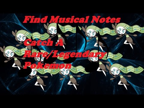 How to find All Musical Notes and Catch MELOETTAROBLOX:PROJECT POKEMON