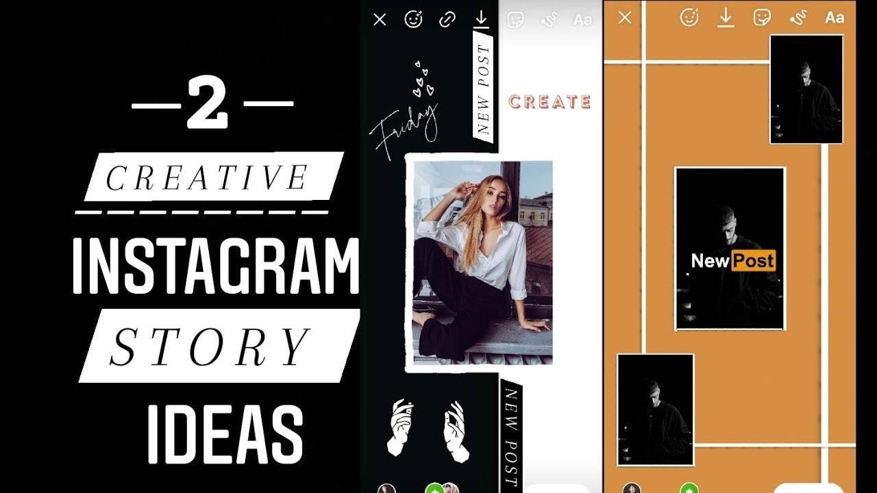 Top 2 Creative New Post Instagram Story Ideas   2021 Instagram Stories Hacks ✨✨