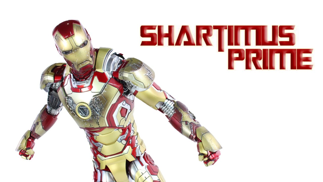 Hot Toys Mark 42 Iron Man 3 Die Cast 16 Scale Movie Masterpiece MMS197 D02 Action Figure Review