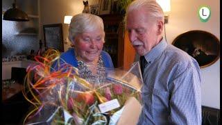 Gerrit en Jennie van der Hulst Zomerdijk 65 jaar getrouwd