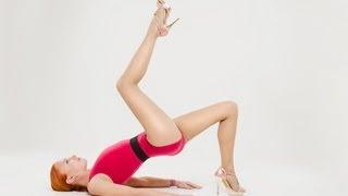 Боди балет + стретчинг (растяжка) | Комплекс упражнений для ног