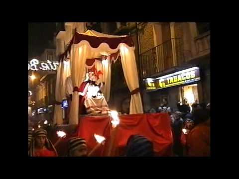 Cabalgata de Reyes 1999, Sangüesa.