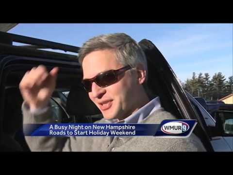 WATCH: Tourists flock to New Hampshire for holiday weekend, school vacation