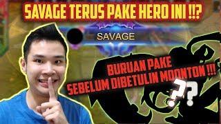 HERO PALING HARAM, TEMENNYA KIMMY!! BURUAN PAKE POKOKNYA SEBELUM DIBENERIN MOONTON! - Mobile Legends