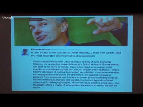 3 Lecture - Kevin Anderson: Paris, climate & surrealism [audio starts @ 8:50]