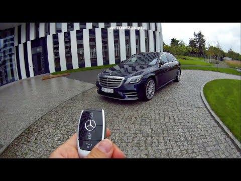 Mercedes S 560 4Matic Long TEST POV Drive & Walkaround ENGLISH SUBTITLES