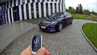 Mercedes S 560 4Matic Long TEST POV Drive & Walkaround ENGLISH SUBTITLES