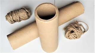 3 Jute Rope Craft To Make Your Home Beautiful | Best Out Of Waste Material | DIY Projects