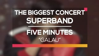 Download lagu Five Minutes - Galau (The Biggest Concert Super Band)