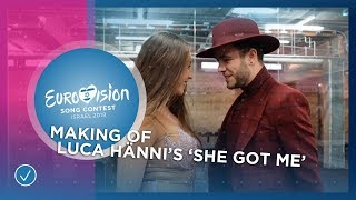 Behind The Scenes at Luca Hänni's music video recording of 'She Got Me' ????????- Eurovision 2019