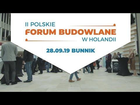 Zobacz relację z Drugiego Forum Budowlanego w Holandii