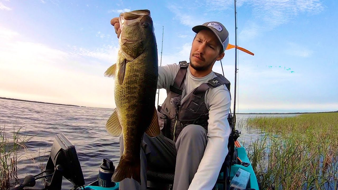 Am I on track for the next KAF kayak bass fishing event? (lake Toho)