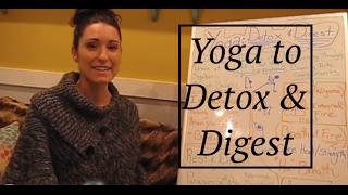 """""""Yoga Board"""": Using Yoga to Detox & Digest- LauraGyoga"""
